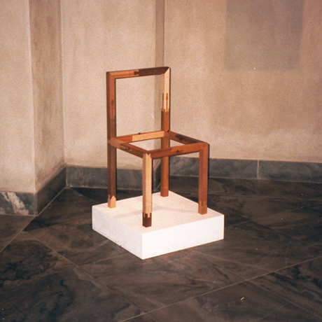 Stolens placering i udstillingen