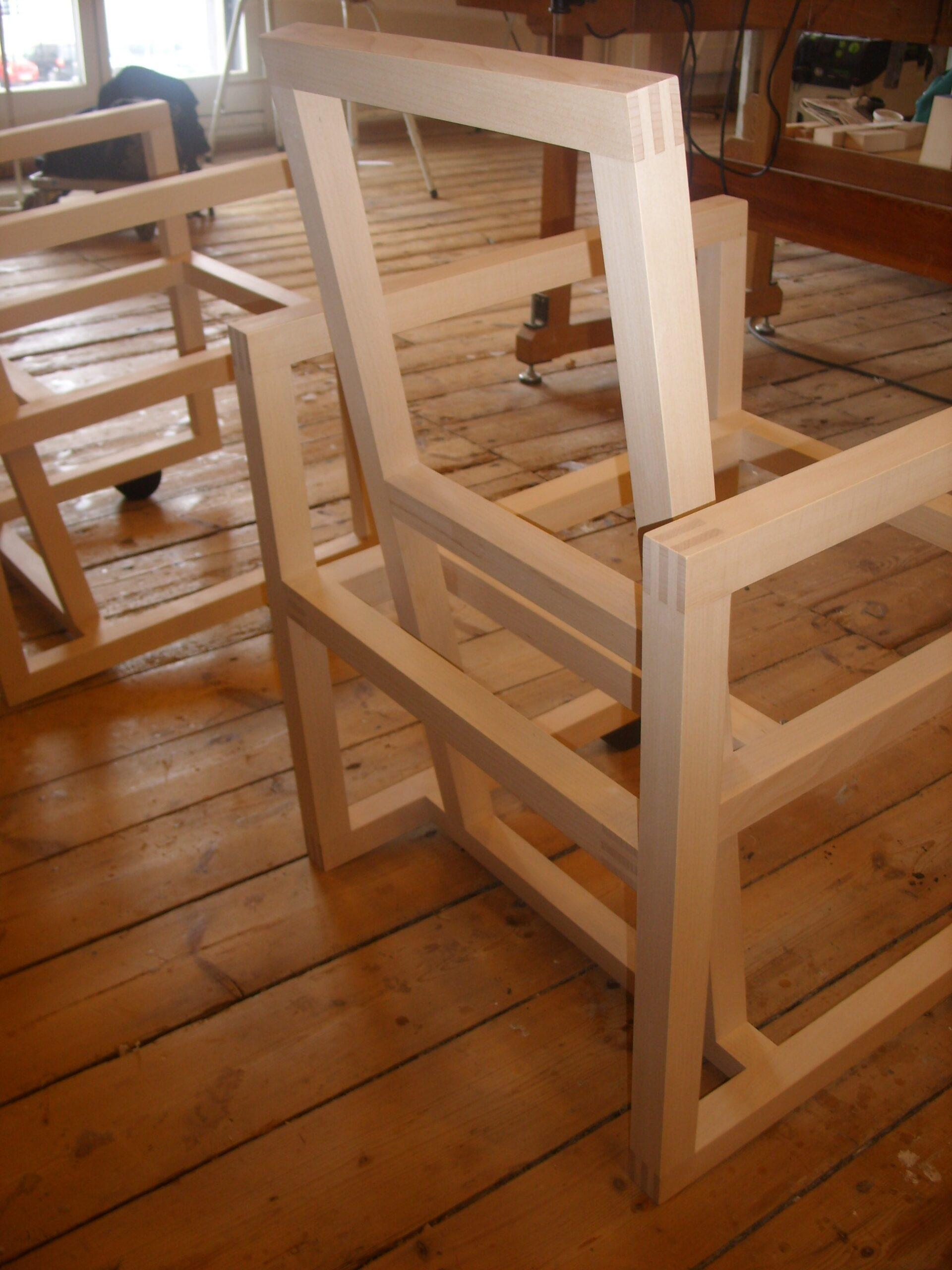 To træstole for Torben Skov 012