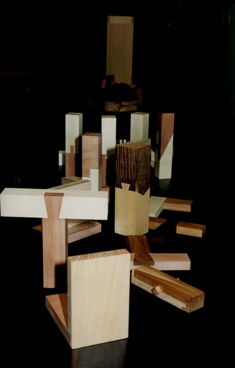 Møbelsendkerforeningens eksempler på samlinger i træ