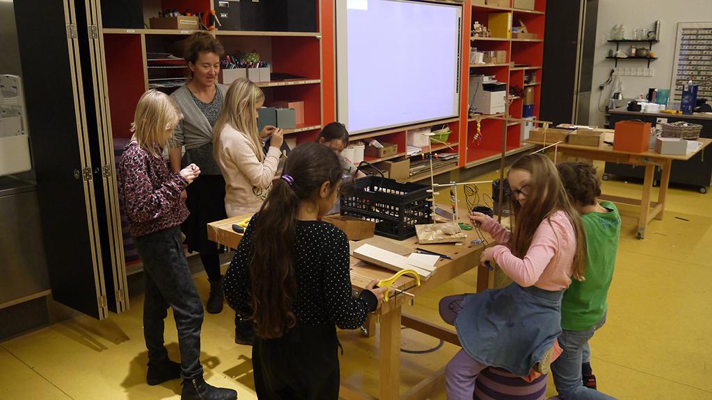 Der var en intensiv stemning. Mobiler for børn på Designværkstedet