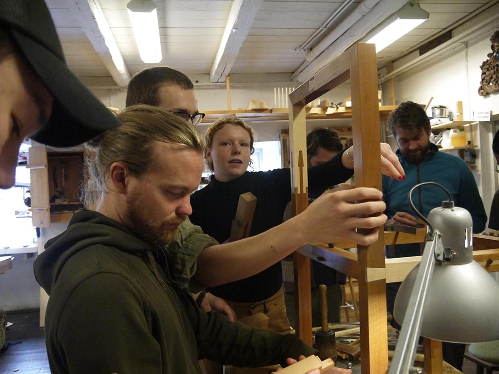 Elever studere samlinger. Avancerede samlinger, Capellagården, Øland.