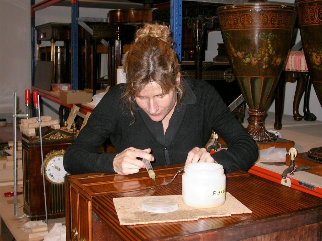 Gitte Jørgensen var med som hjælper