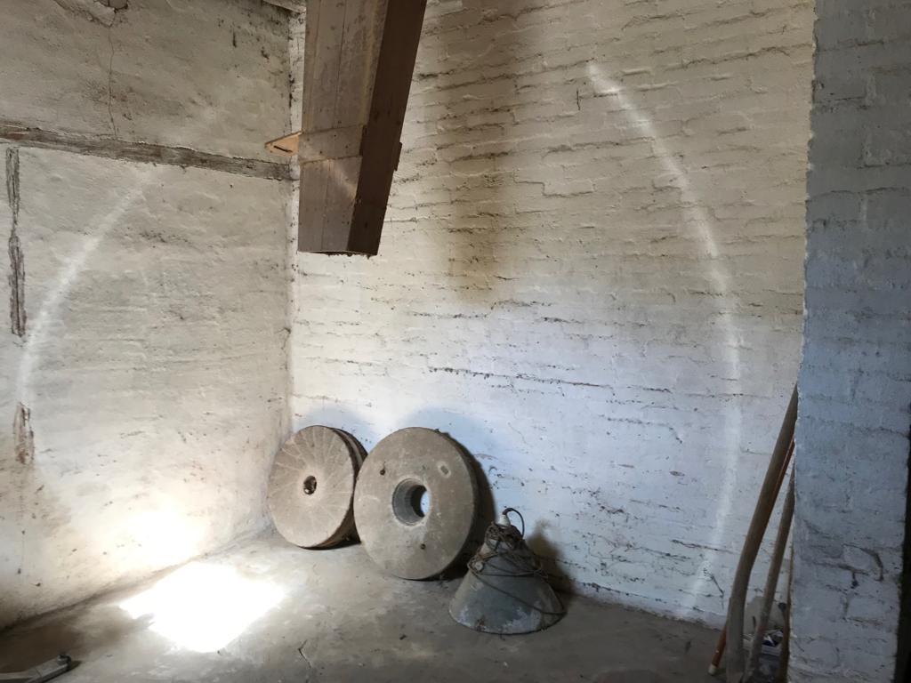 Møllehjul står fra tideligere tider