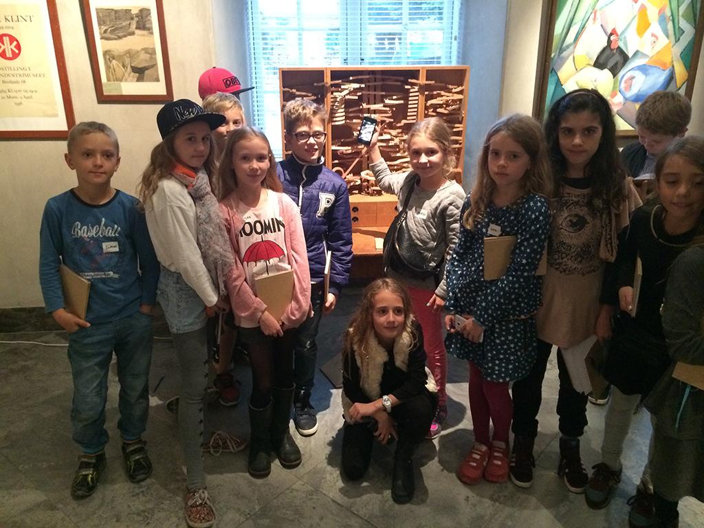 Søde unger. Kuglebaner for børn på Designværkstedet