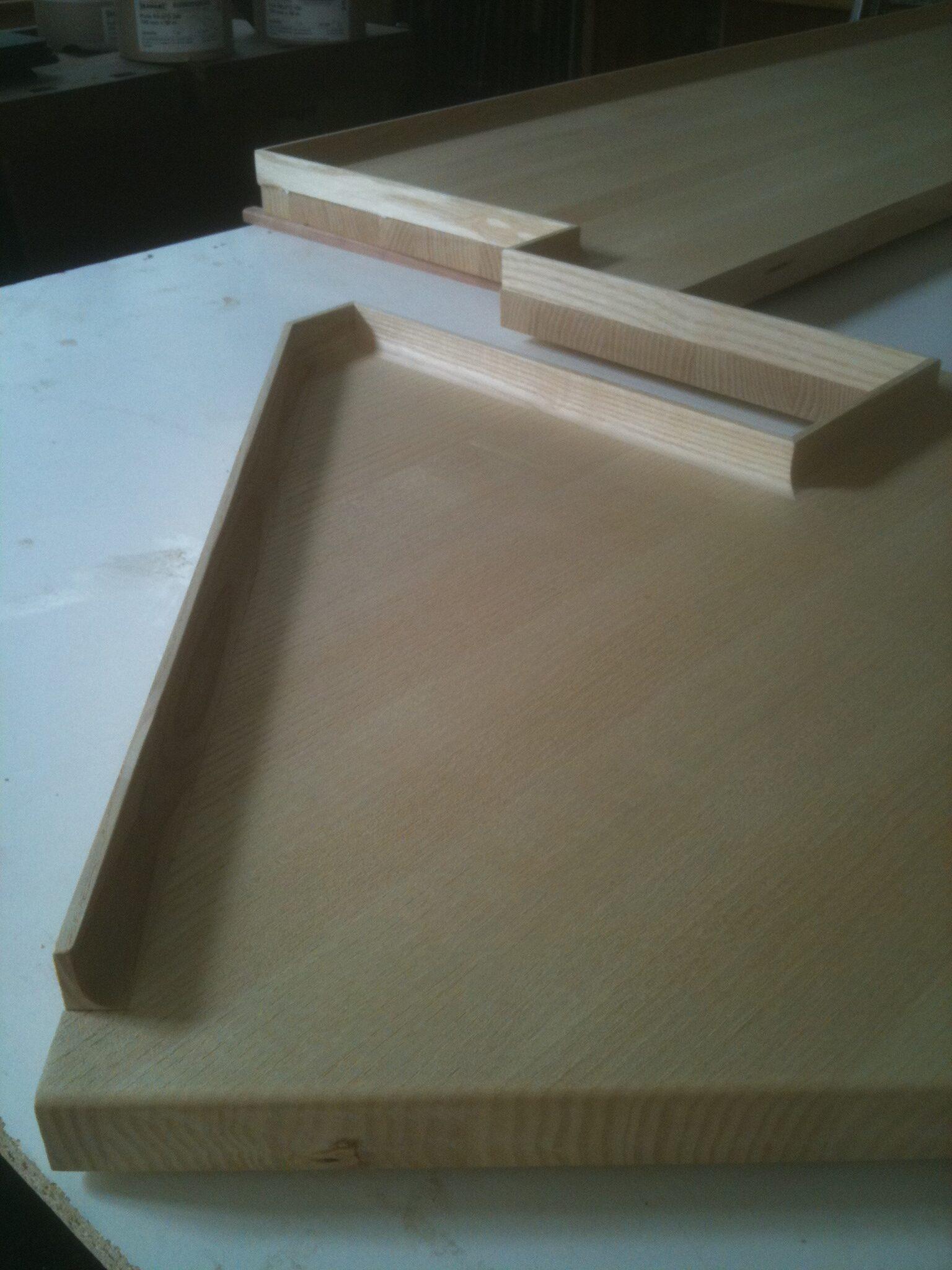Special bygget køkkenbordsplade